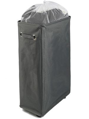 """27"""" Grey laundry basket"""