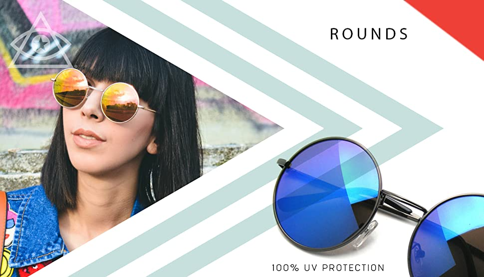 92273c384 Womens super round fashion circle sunglasses made famous by celbrity  bloggers. Super fun oversized boho bohemian sunglasses.This item features  metal inner ...