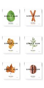 Peppermint, Cinnamon, Ginger, Fennel, Maple, Coffee