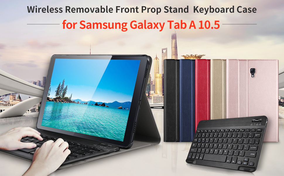 Amazon.com: IVSO Case with Keyboard for Samsung Galaxy Tab A ...
