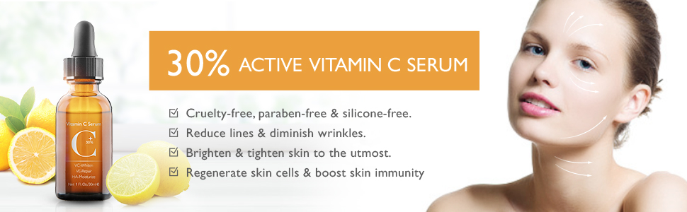 30% vitamin c serum for face