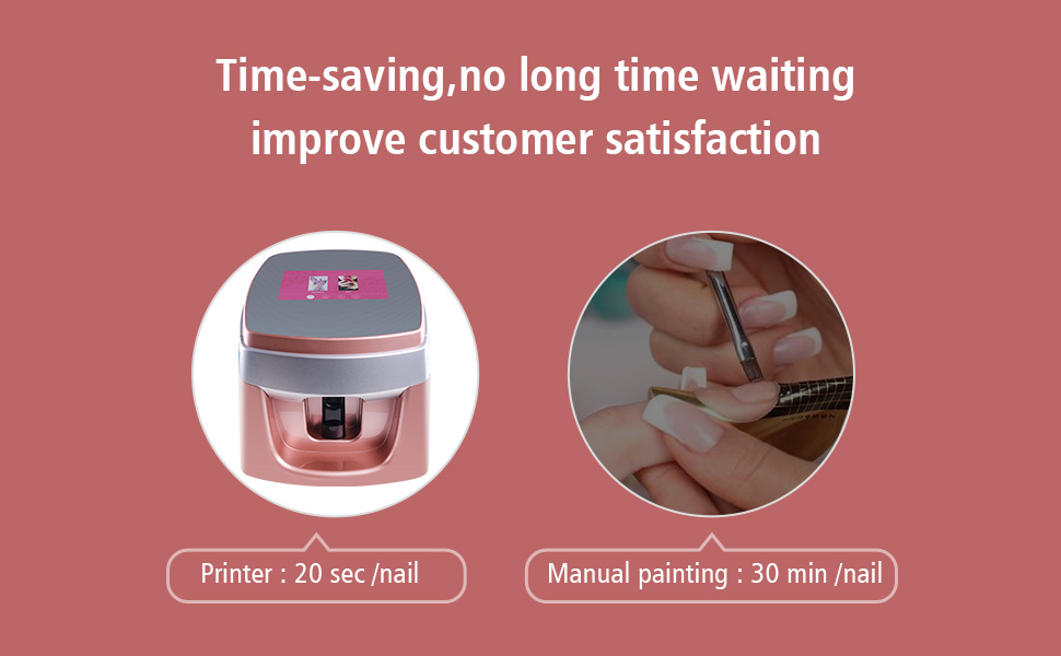 Amazon.com: TUOSHI NP10 Nail Printer Machine - Professional ...
