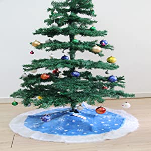 christmas tree skirts blue white blue tree skirt blue christmas tree skirt blue and white tree - White And Blue Christmas Tree