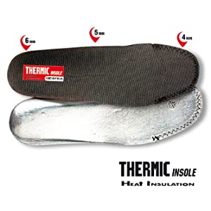 Thermic Insole, Heat Insulation