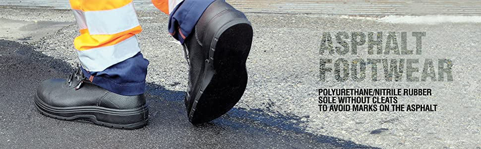 Treadless Work Boots, Treadless Safety Shoes