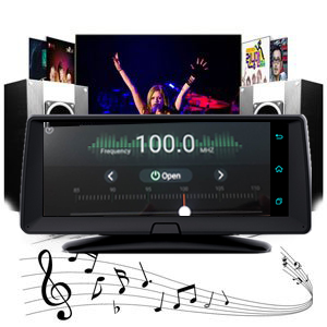FM Function enjoy music with car stereo