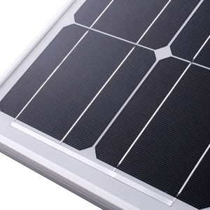 KOMAES 200 Watts 12Volts Monocrystalline Solar Panel With Energy-efficient Tech Kit Includes 20Amp PWM Solar Charge Controller, 20ft Tray Cable, 20ft MC4 Cable, Branch Connector, Mounting Z Brackets