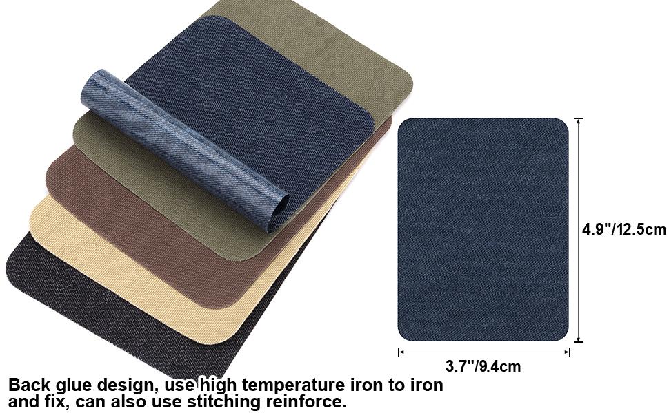 Amazon.com: Parches de hierro para vaqueros de ropa, 30 ...