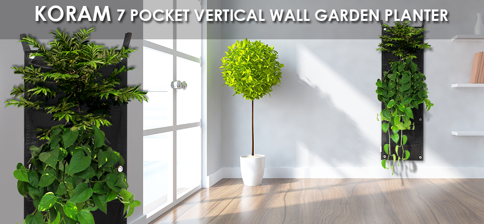 KORAM Vertical Garden Planter For Easy DIY Living Wall