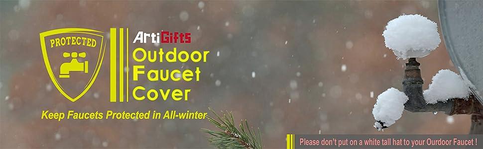 Amazon.com: ArtiGifts Pro - Juego de 2 calcetines para grifo de agua para  exteriores (5.9 in de ancho x 7.0 in de alto, 2 unidades): Jardín y  Exteriores