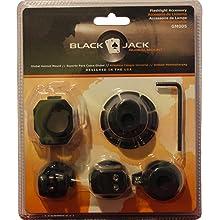BlackJack Global Mount Firefighter Helmet Flashlight Holder GM003