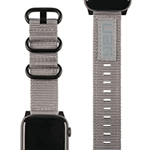 rugged watch band series 1 2 3 4 strap nylon premium heavy duty compatible iwatch buckle military