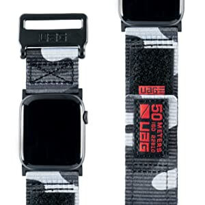 sport woven nylon rugged active apple watch band 44mm 42mm series 1 2 3 4 men camouflage
