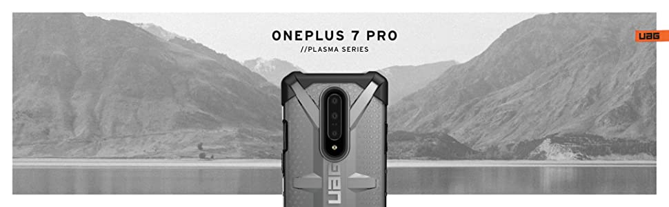 oneplus 7 pro clear back hard rubber tpu transparent rugged armor heavy duty slim fit shockproof