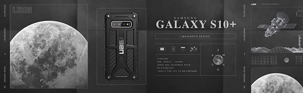 samsung galaxy s10 plus case clear shockproof shock proof dual layer protection black rugged armour