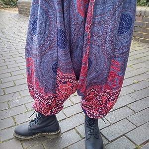 f0b540e210 beach wear womens pants teal trouser pants women printed flared pants  bohemian beach high waisted