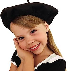 Beret berets black art paris