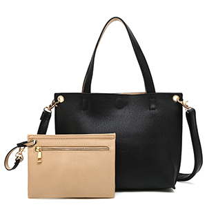 5adf5df8d09c Amazon.com: Scarleton Stylish Reversible Tote Handbag for Women ...