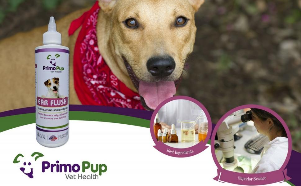Amazon.com: Primo cachorro veterinario salud – oreja Flush ...