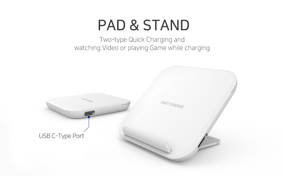 Amazon.com: Partron Quick Fast Wireless Charger, All Qi ...