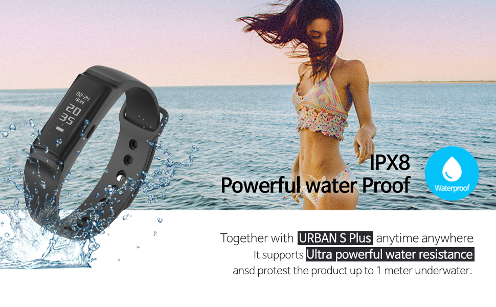 IPX8 waterproof