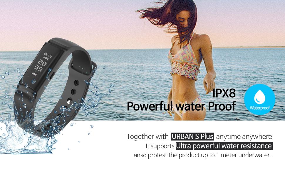 IPX8 waterproof