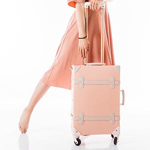 : COTRUNKAGE Juego de maletas de 3 piezas, estilo