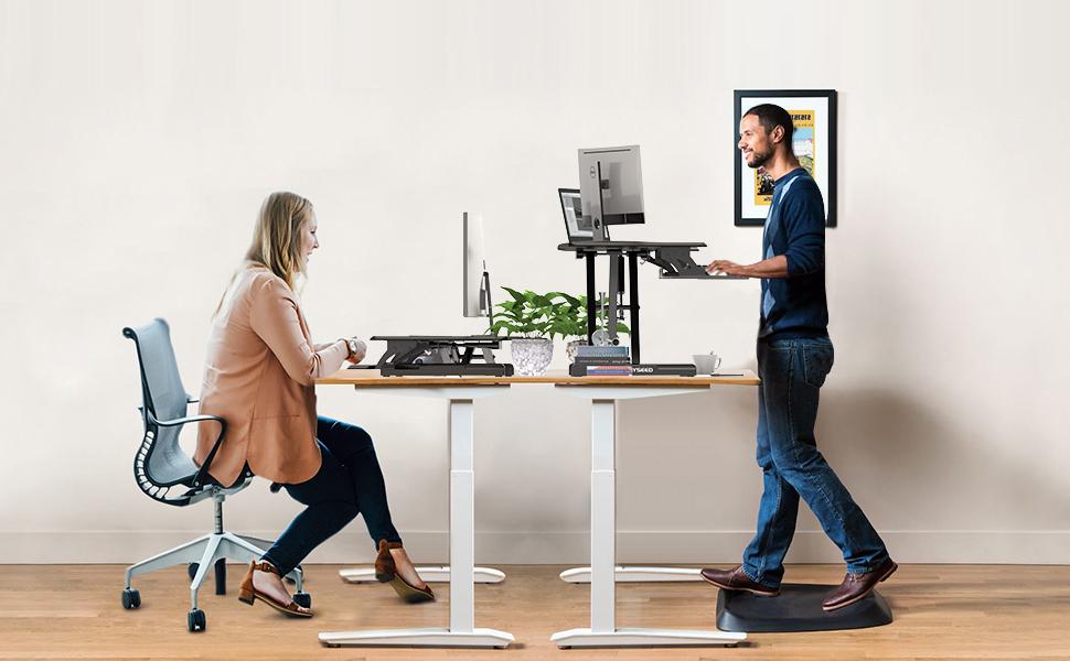 Amazon Com Alloyseed Standing Desk 33 Height Adjustable Sit