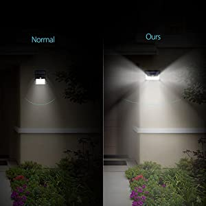 24 Led Wireless Outdoor Security Lights W 3leds On Sides