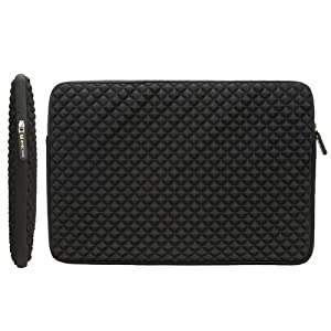 Slim and Lightweight: Evecase Diamond Style Sleeve Case is Constructed with a Modern Slim & Lightweight Design Accommodate to Your Daily Needs.