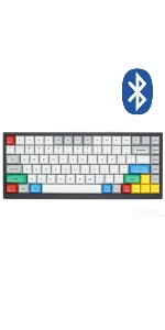 Vortexgear Vortex tab 75 tab75 bluetooth 3.0 mechanical gaming keyboard programmable macros