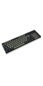 Vortexgear tab 90M mechanical gaming keyboard cnc case doubleshot keycaps programmable macros