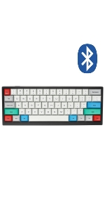 Tab60 tab 60 mechanical gaming keyboard vortex vortexgear bluetooth wireless phone typist