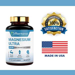 SUPERIOR QUALITY. We are committed to maintaining the highest quality natural magnesium 500mg ...