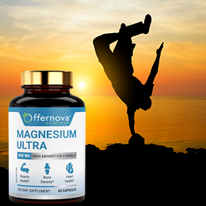 ULTRA STRENGTH FORMULA. Magnesium ...