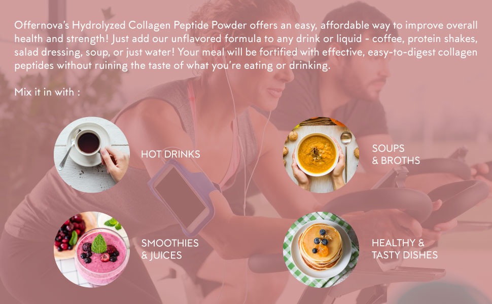 Hydrolyzed Collagen - Unflavored Peptides Powder from Bovine - Fat Free, Grass-Fed, Paleo/Keto Friendly for Women and Men – for Healthy Bones, Joints, ...