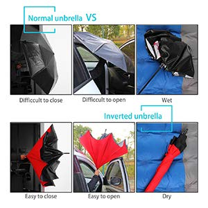inverted umbrella for women
