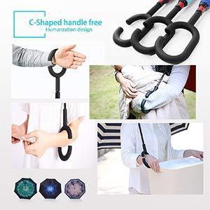 c shaped reverse umbrella