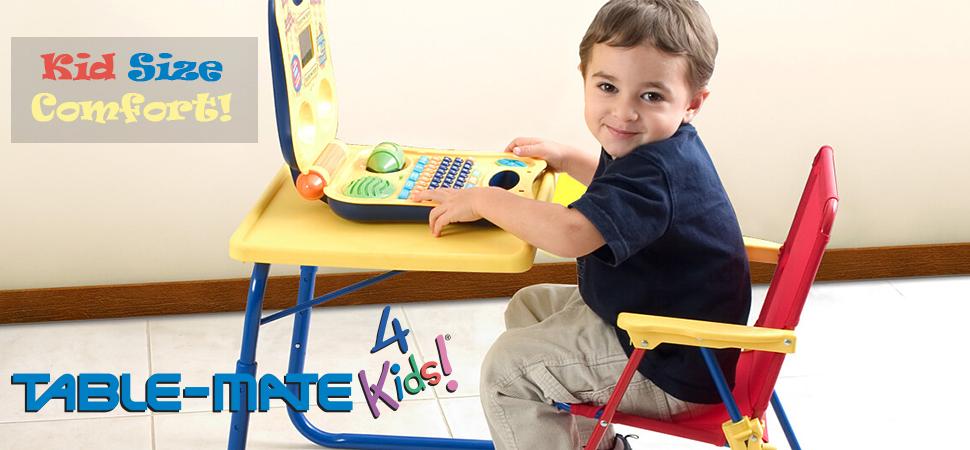 Amazon Com Table Mate 4 Kids Folding Desk And Chair Set