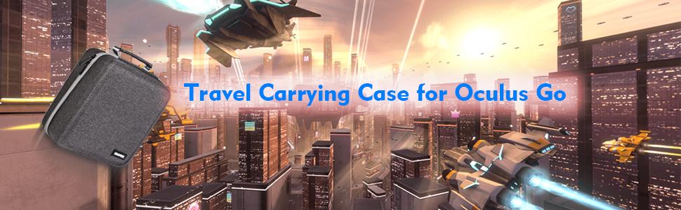 Kootek Travel Carrying Case for Oculus Go