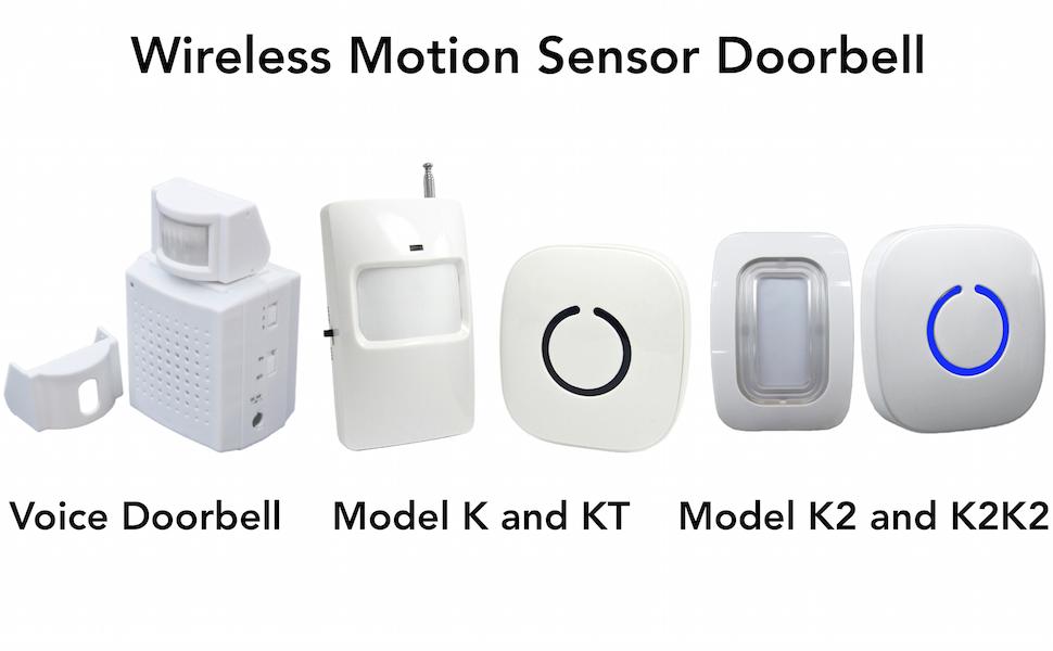 Amazon.com: SadoTech Voice Alert Motion Sensor Doorbell with ...