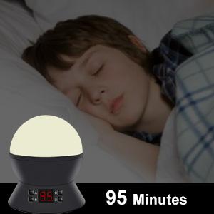 Time setting night light