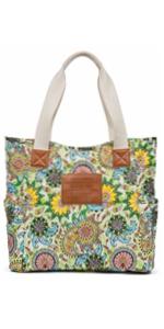 Flower Beach bags