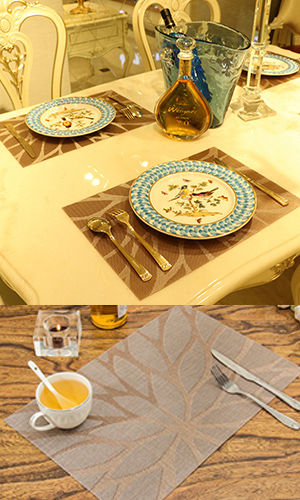 hebe woven vinyl placemats