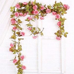 fake rose garland