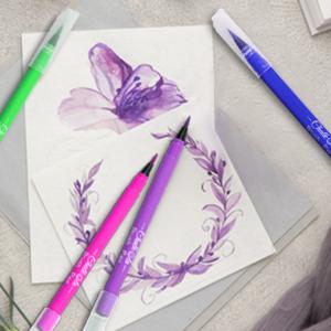 brush markers set chalk pastel pencils water color pens brush pens for lettering watercolor pen
