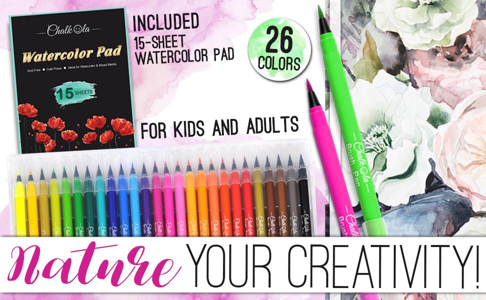 paint brush pens water color paints watercolor pens set watercolor brush pen brush art pens