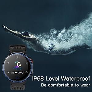 IP68 level waterproof