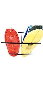 surfboard ceiling storage rack double overhead garage longboard shortboard metal high capacity best