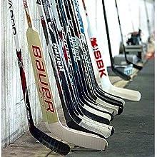 ice hockey sticks storage organize rack holder stand display locker room garage home goalie shelves